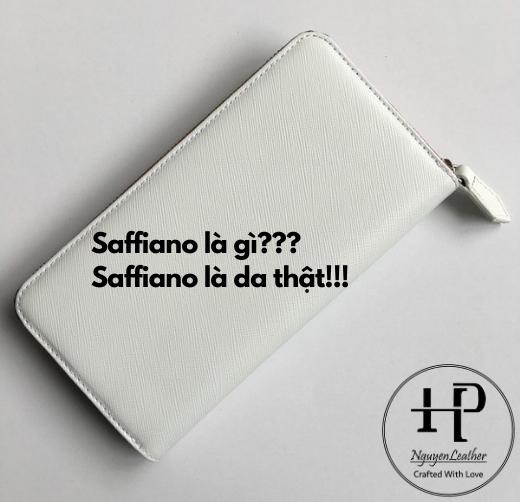 Da Saffiano  Có Phải Là Da Thật