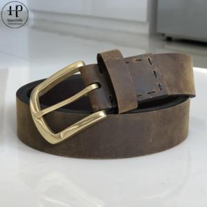 Thắt Lưng Da Lộn 4cm Waxis-T4